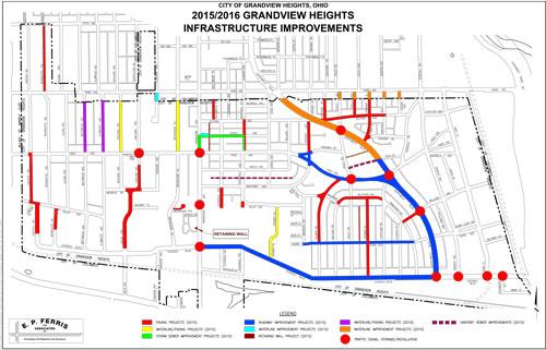 grandview street map images